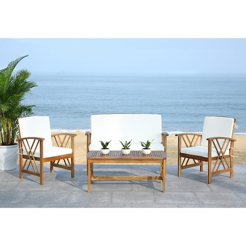 Safavieh Outdoor Living Fontana 4-piece Outdoor Set