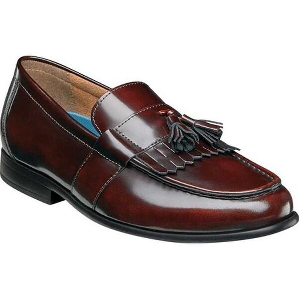 94509acb1a98 Shop Nunn Bush Men s Denzel Kiltie Loafer Burgundy Leather - Free ...