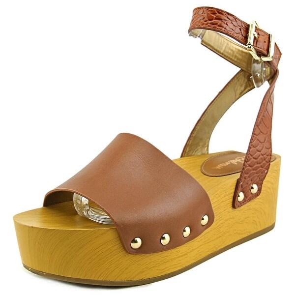 eeac71a80 Shop Sam Edelman Brynn Open Toe Leather Wedge Sandal - Free Shipping ...