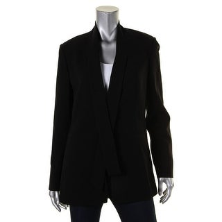 Theory Womens Alkrine Blazer Crepe Long Sleeves
