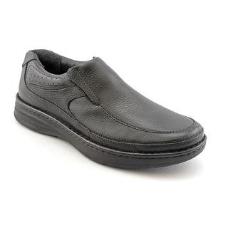 Drew Bexley Men N Round Toe Leather Black Loafer