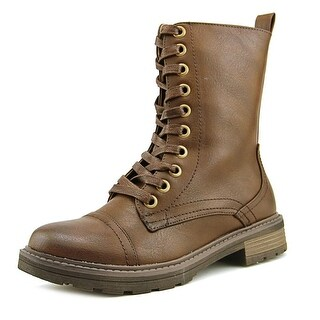 Wanderlust Holly   Round Toe Synthetic  Boot