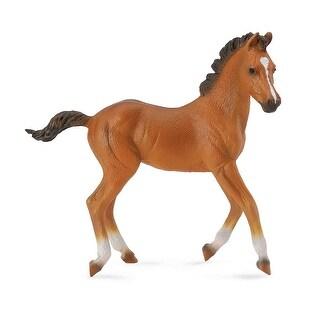 Breyer 1:18 CollectA Model Horse: Bay Quarter Horse Foal - multi