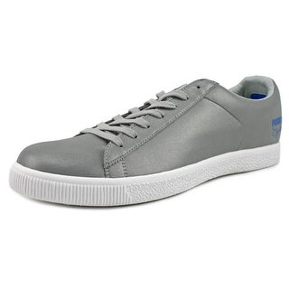 Puma Clyde X Undftd Luxe Promo Men   Synthetic Silver Fashion Sneakers