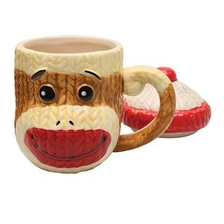 Sock Monkey Lidded Ceramic Coffee Mug - Hand Painted - 9 Ounces https://ak1.ostkcdn.com/images/products/is/images/direct/94d2006d53f31269129c6611b0b4c5728f3ee119/Sock-Monkey-Lidded-Ceramic-Coffee-Mug---Hand-Painted---9-Ounces.jpg?impolicy=medium
