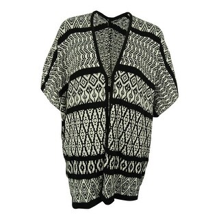NY Collection Women's Open-Front Knit Cardigan - 1x