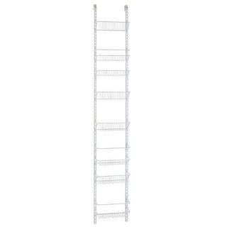 Closetmaid 123100 Adjust Wall Rack, 8 Tier, White