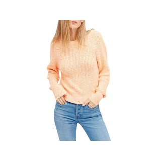 Free People Womens Electric City Pullover Sweater Knit Long Sleeves
