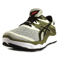 Asics 33-M Men  Round Toe Synthetic Green Running Shoe