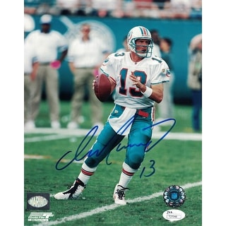 Dan Marino Autographed Miami Dolphins 8x10 Photo JSA