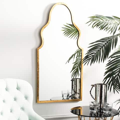 """SAFAVIEH Parma Moroccan Gold 36-inch Decorative Mirror - 18"""" x 36"""" x 1"""""""