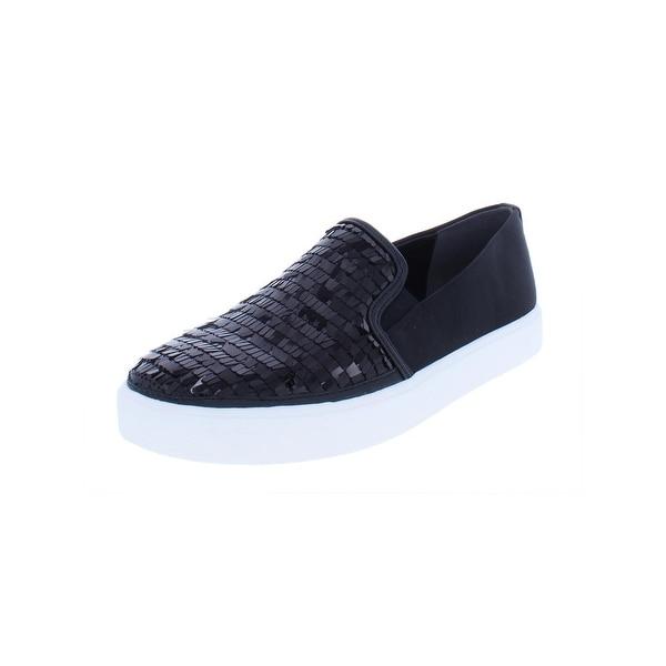 8fcdbee34b58 Shop Sam Edelman Womens Elton Fashion Loafers Satin Sequin - Free ...
