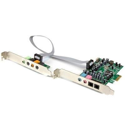 Startech 7.1 Channel Sound Card, Pci Express Pexsound7ch