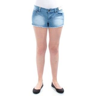INDIGO REIN $23 Womens New 1250 Blue Cropped Casual Short Juniors 11 B+B