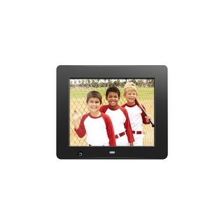 Aluratek ADMSF108F Aluratek 8 inch Digital Photo Frame with Motion Sensor and 4GB Built-in Memory - 8 LCD Digital Frame -