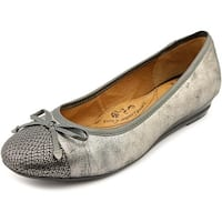 Sofft Selima Women  Round Toe Leather Silver Flats
