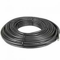 RCA DH100QCR Digital Plus Quad RG6 Coaxial Cable, Black, 100'