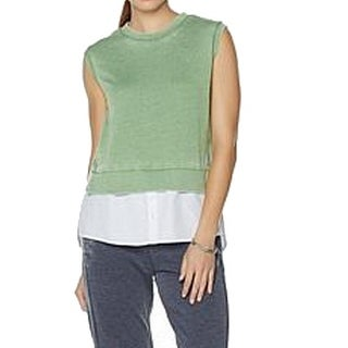 The Wendy Williams Collection NEW Green Womens Size 3X Plus Vest Sweater