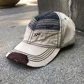 Vintage Chevron Baseball Cap - 7 1/4 - Thumbnail 0