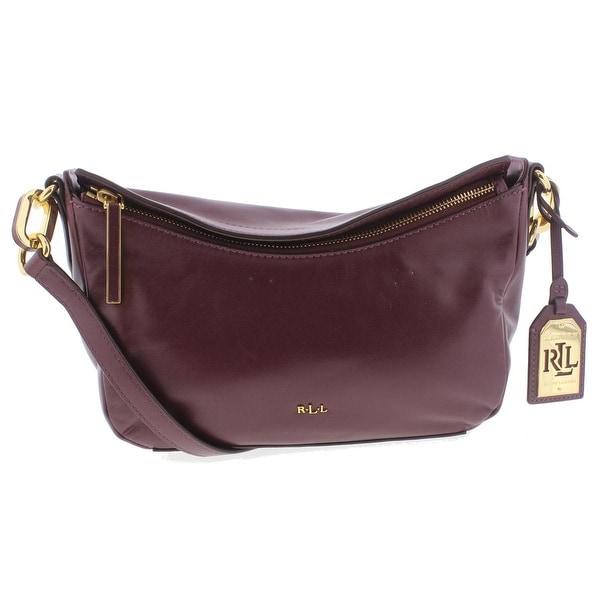 ... top quality lauren ralph lauren womens bramfield cait crossbody handbag  leather signature medium 399ac 3dc04 aa6cb306f460c