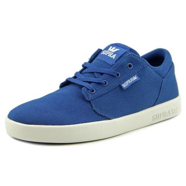 Supra Yorek Low Round Toe Canvas Tennis Shoe