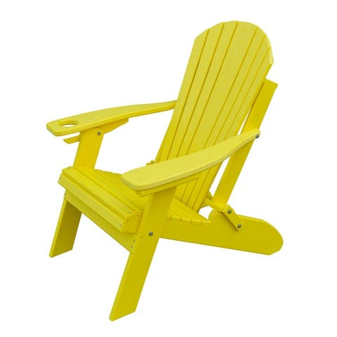 Folding Adirondack Chair with Smart Phone Holder - Eagle Collection