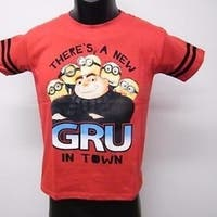 "Despicable Me ""Gru"" Kids Kid Size 7 T-Shirt 69Op"