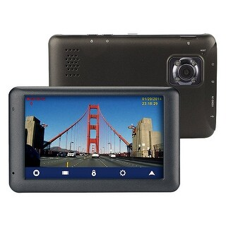 Magellan Rm6230sbluc Roadmate 6230-Lmx Dashcam Navigator Bundle With Free Lifetime Map Updates