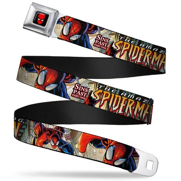 Marvel Universe Spider Man Full Color The Amazing Spider Man #509 Sins Past Seatbelt Belt
