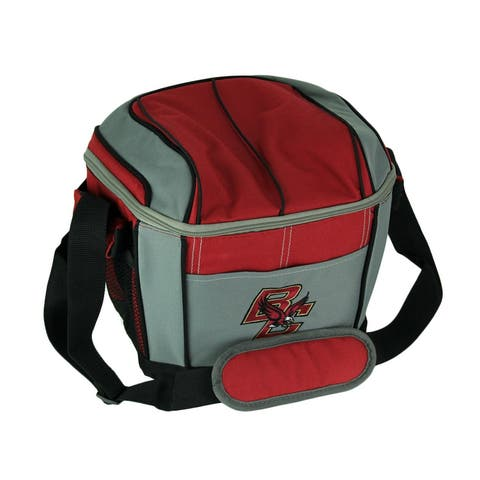 Coleman Boston College Eagles 24 Can Soft Sided Cooler/Lunchbox - Red - 9.25 X 10.5 X 8 inches