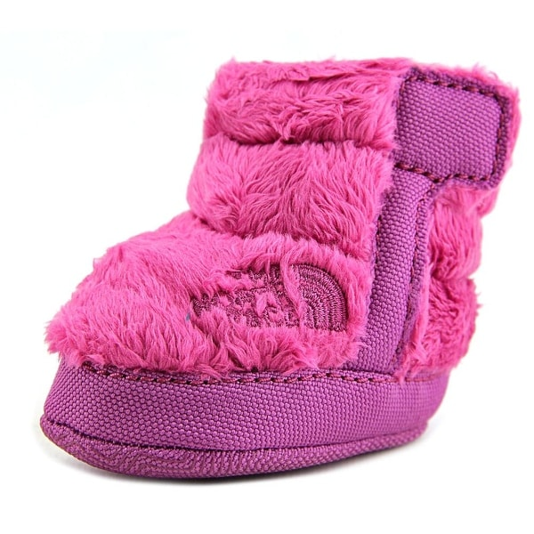 The North Face NSE Infant Fleece Bootie Infant Round Toe Canvas Purple Bootie