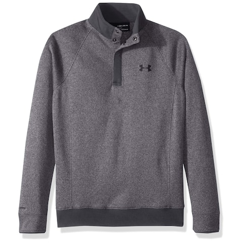 Under Armour Boys Sweaters Gray Size XL Water-Repellant Mock Neck