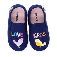Kids Carter's Girls Tween 7 Fabric Low Top Slip On Fashion Sneaker