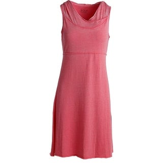Marc New York by Andrew Marc Womens Hooded Knee-Length Performance Dress