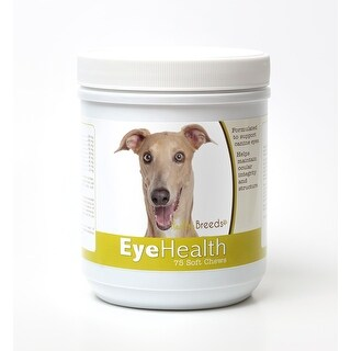 Healthy Breeds Italian Greyhound Dog Eye Care Support Soft Chews 75 Count