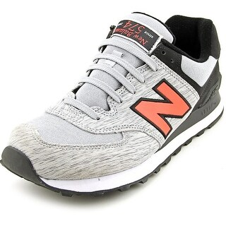 New Balance ML574 Men  Round Toe Synthetic Gray Sneakers