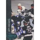 Jeff Odgers San Jose Sharks 1993 Parkhurst Autographed Card This item comes with a certificate of