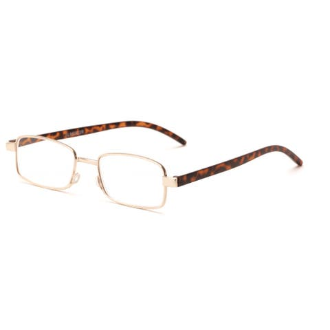 Readers.com The Piper Rectangle Reading Glasses