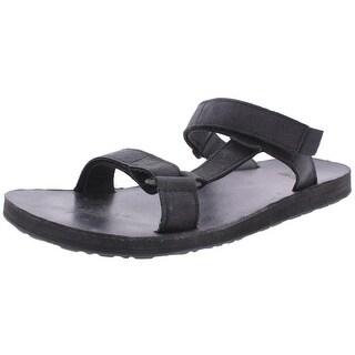 Teva Mens Universal Slide Sandals Leather Adjustable