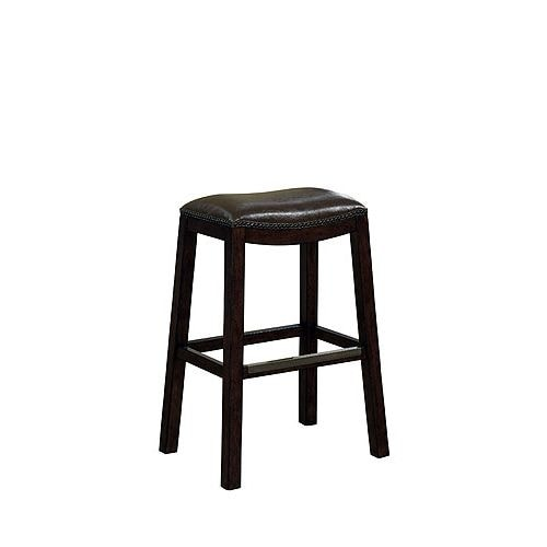 "American Heritage Billiards Austin Counter Stool Austin 26"" Tall Wood Frame Counter Stool"