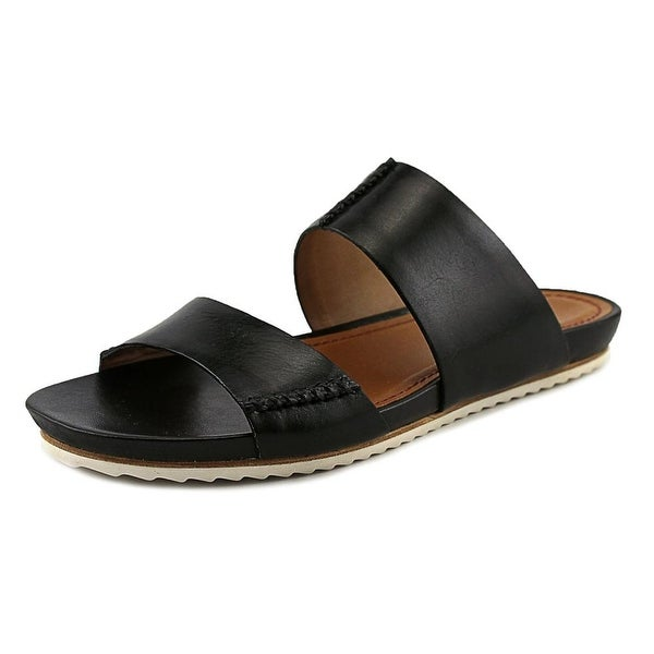 H.S. Trask Shea Women Black Calf Sandals