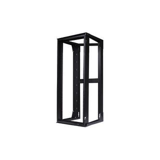 "Hubbell HPWWMR24 Wall Mount Network Rack / Swing Frame W/ 24"" Height x 18"" Deep