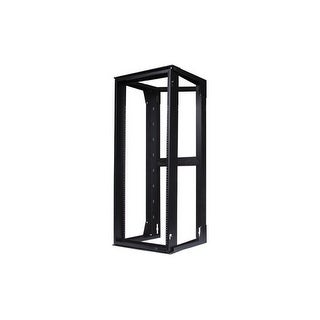 Hubbell HPWWMR24 Wall Mount Network Rack / Swing Frame W/ 24 Height x 18 Deep