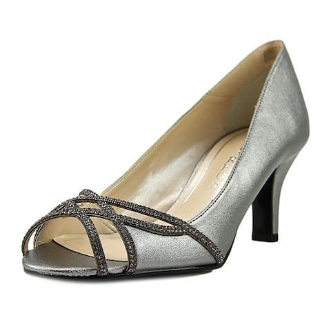 fad0aca25c4 Caparros Womens Eliza Leather Peep Toe Classic Pumps