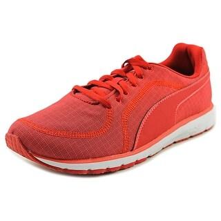 Puma Narita v3 Knit Women Round Toe Canvas Red Sneakers