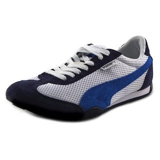 Puma 76 Runner Round Toe Suede Sneakers