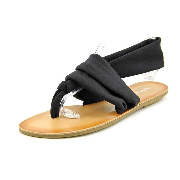 Dirty Laundry Beka 2   Open Toe Canvas  Thong Sandal