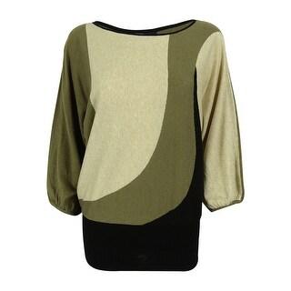 Style & Co. Women's Dolman Sleeve Sweater