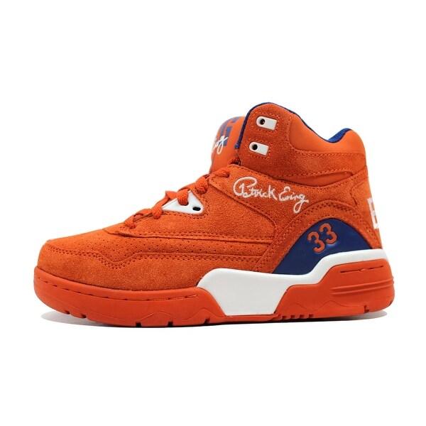 Ewing Men's Ewing Guard Orange/White-Blue Orange Suede New York Knicks 1EW90055-830