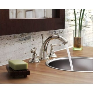 Newport Brass 1020 Amisa Double Handle Widespread Lavatory Faucet with Metal Lever Handles